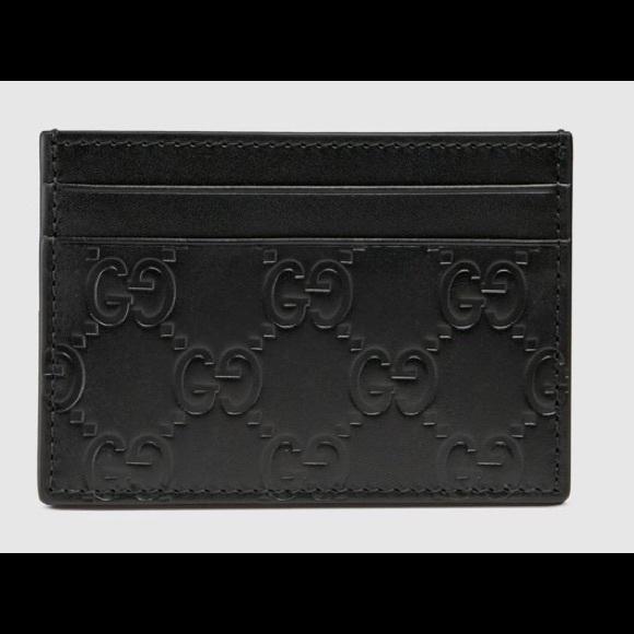 Gucci Handbags - Gucci wallet small signature with silver clip